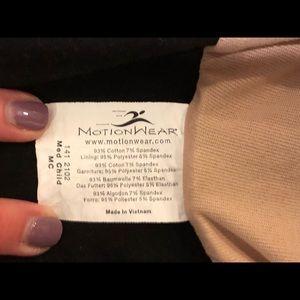 Motionwear Costumes - Motionwear Long Sleeve Leotard - Child Med (8-10)